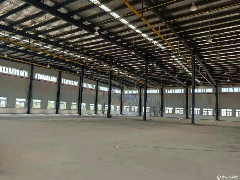 黄陂汉口北钢结构厂房2000平米钢结构,配套办公宿舍独院,可分
