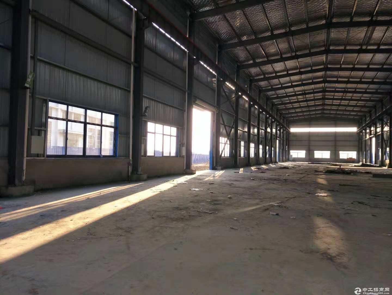黄陂横店钢结构厂房1500平米钢结构仓库,14元每平含物业配套全