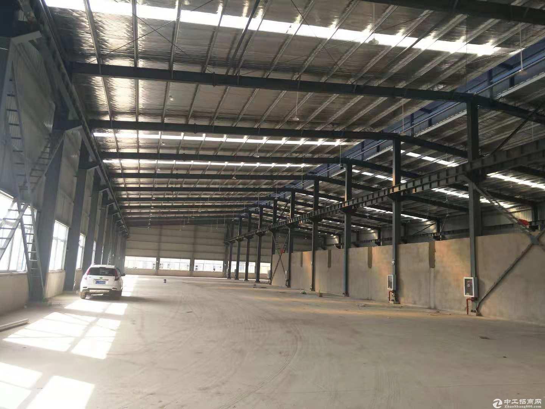 黄陂临空钢结构厂房1800平米钢结构仓库,轻工配套办公食堂