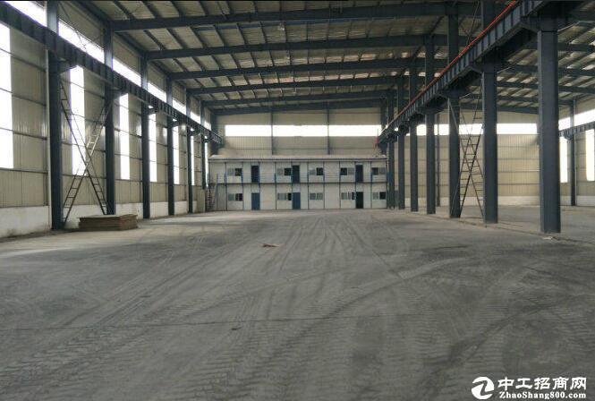 [汉南厂房] 经开汉南区独栋单层标准厂房20000平,可分租