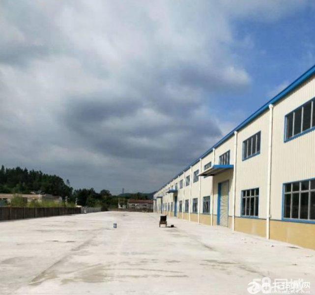 惠州 惠城小金口工业园区4600平方独院钢构厂房出租,带精装修