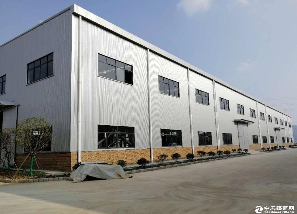 [汉南厂房] 1000平钢构厂房,可分租