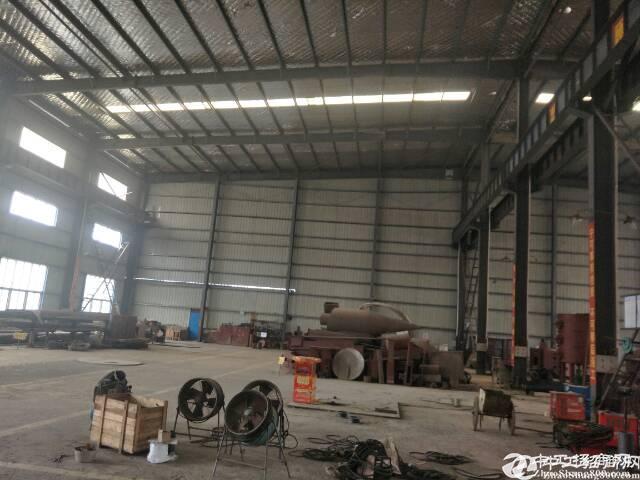 [五周厂房] 鄂州丁祖镇重工钢结构厂房2000平米,带行车,独门独院