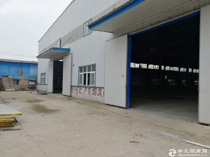 走马岭2000平钢构厂出租带航吊