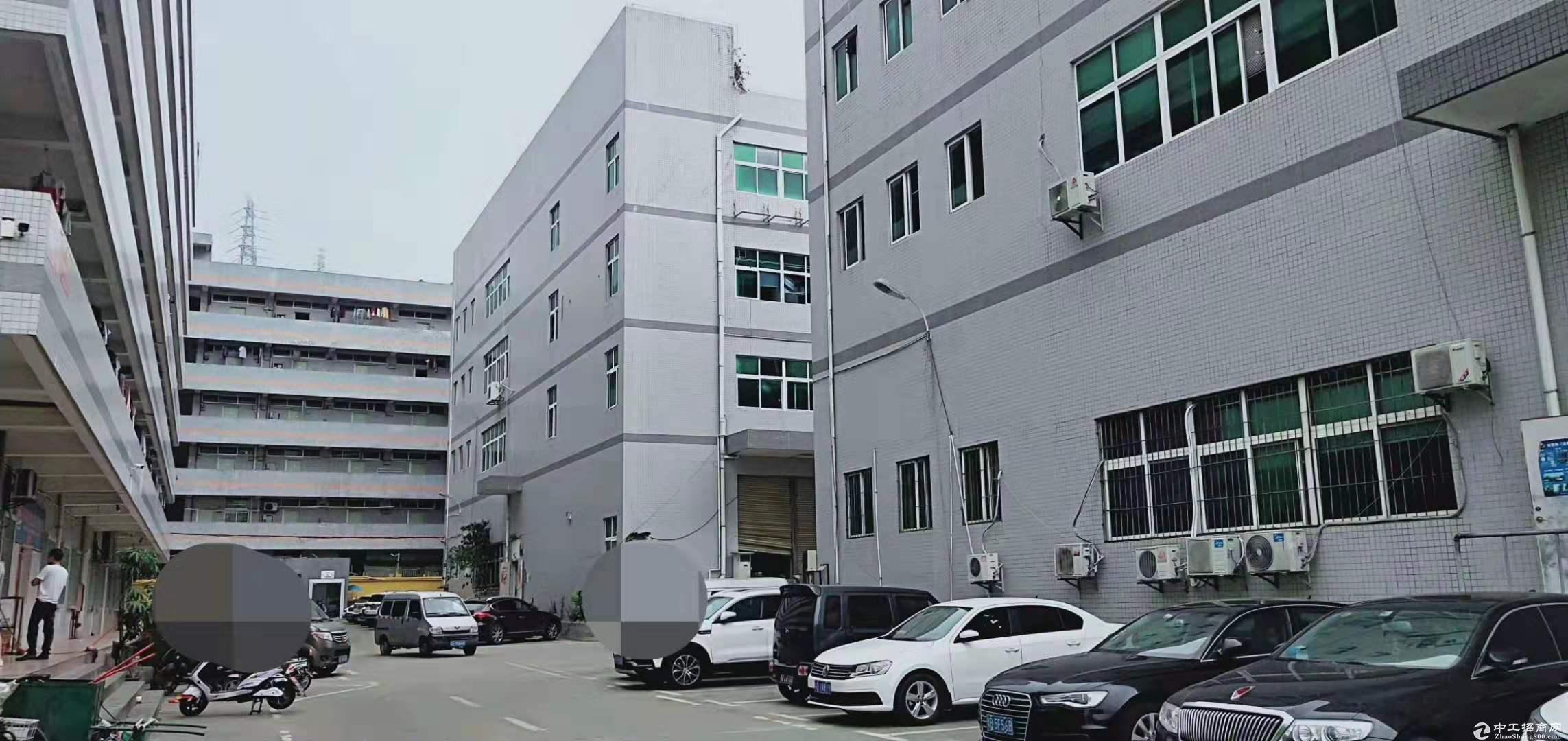 石岩同富裕独栋厂房10800平方出租,部分带装修!