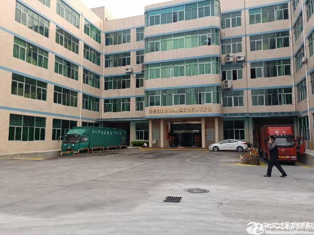 平湖富民工业区新出一楼1900平方标准厂房招租