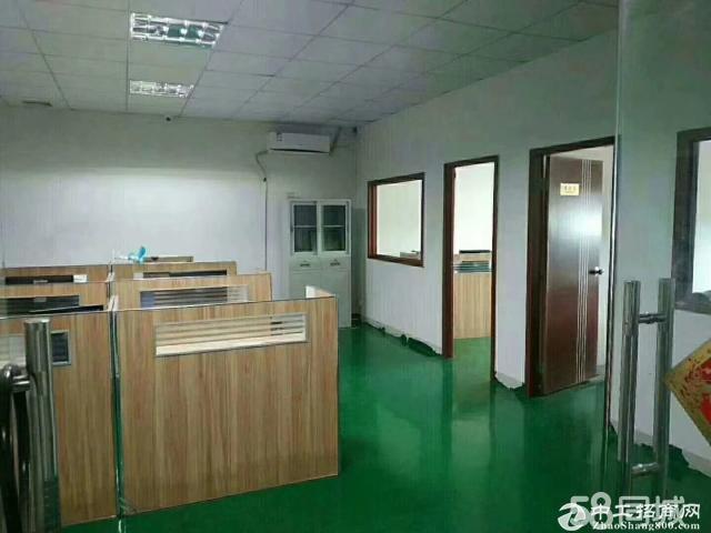 平湖华南城附近新出楼上600平方带办公室装修出租