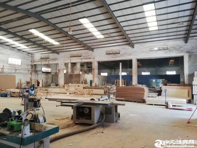 惠阳新圩约场原房东独栋钢构厂房3000平米招租
