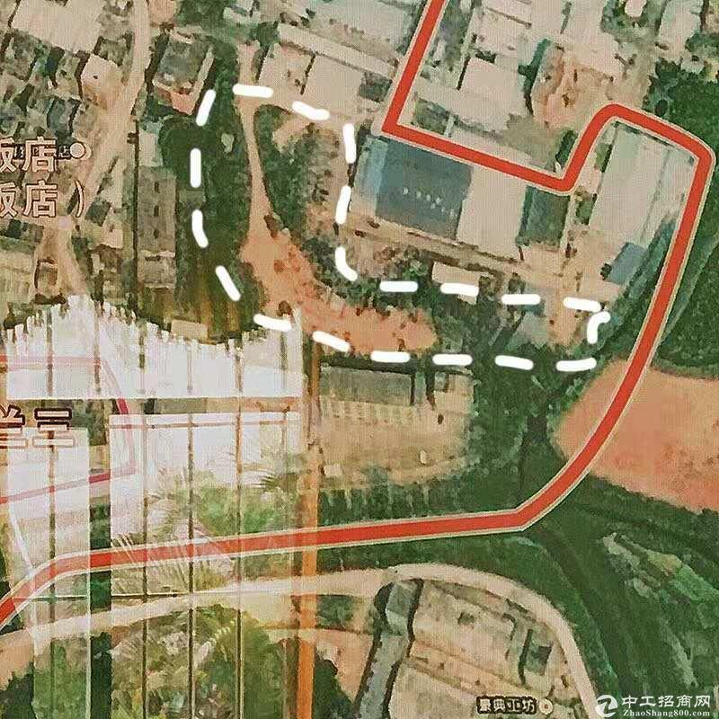 深圳观澜工业用地1.3万平方,原房东,工业用地,15元每平,合同5年