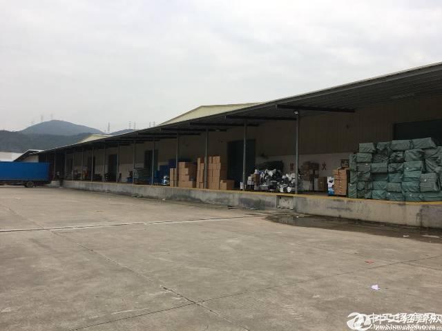 [横岗厂房]横岗红棉路高速路口附近6500平方单一层物流仓库出租