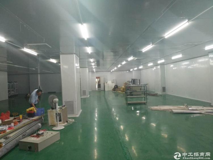 公明圳美带装修标准楼上厂房600招租!