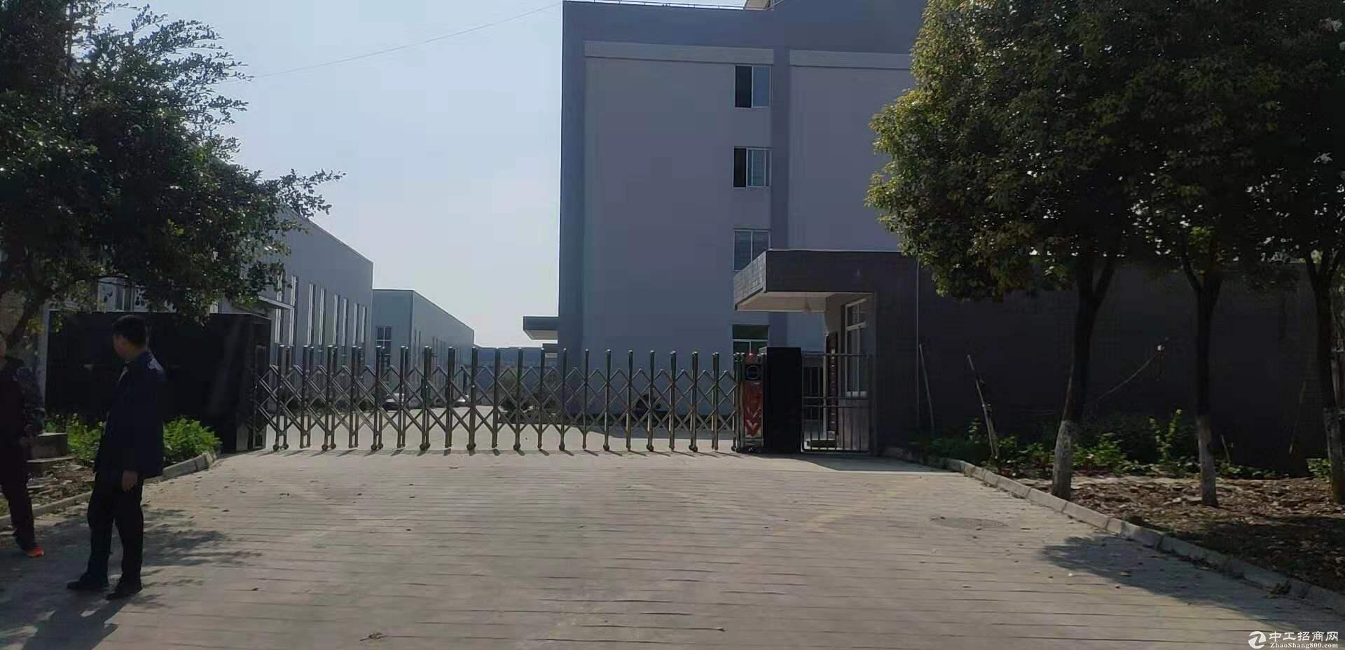 崇州工业园9500平独栋钢结构带行车出租可分租