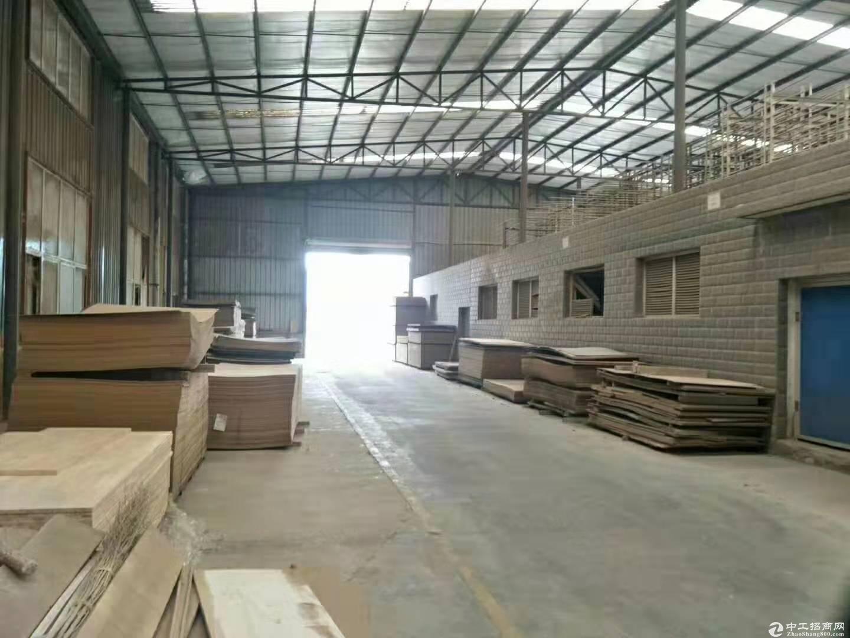 崇州工业园 家具厂房 钢结构带行车出租可分租-图3