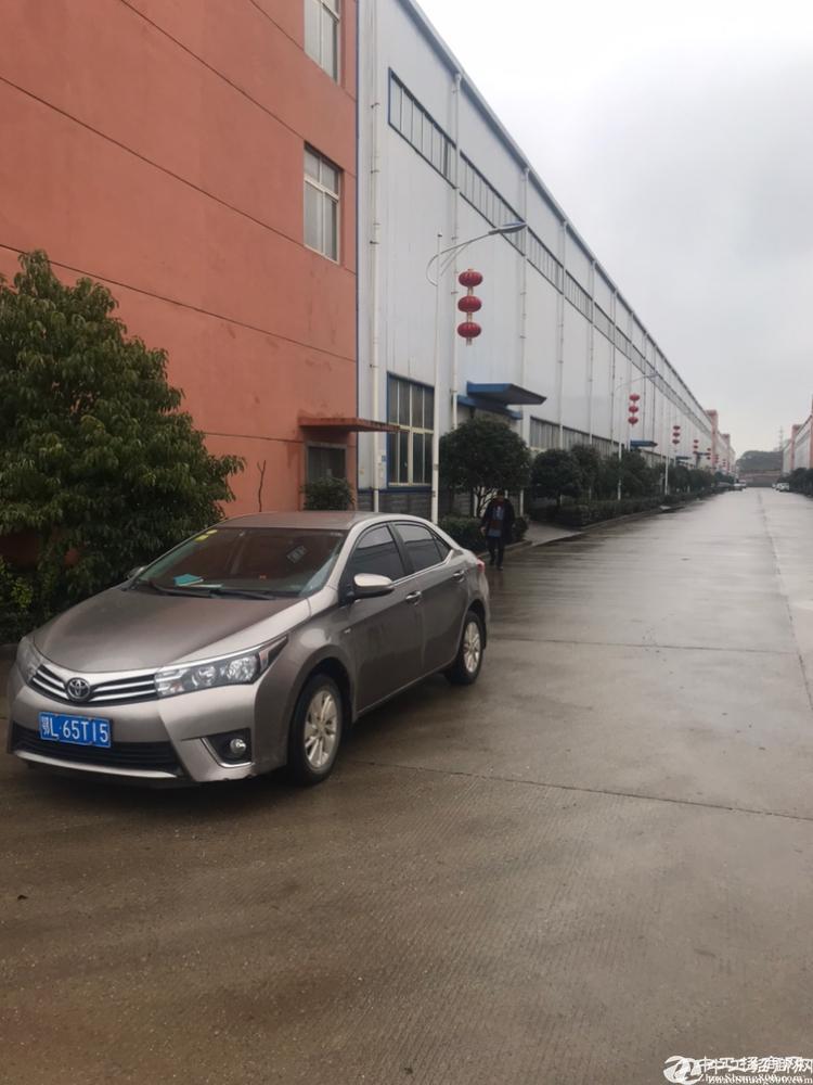 [江夏厂房] 大花岭村委钢构厂房2跨无遮挡带行车超长