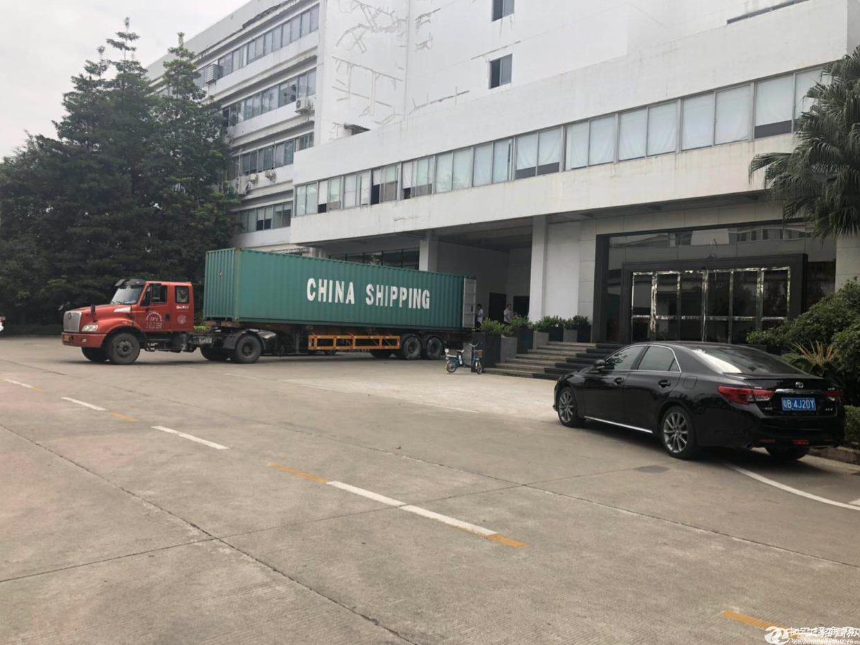 六联红本高新科技园钢构厂房6米高带航车出租