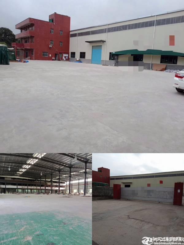 坪地6850平全新独院钢构厂房12米高