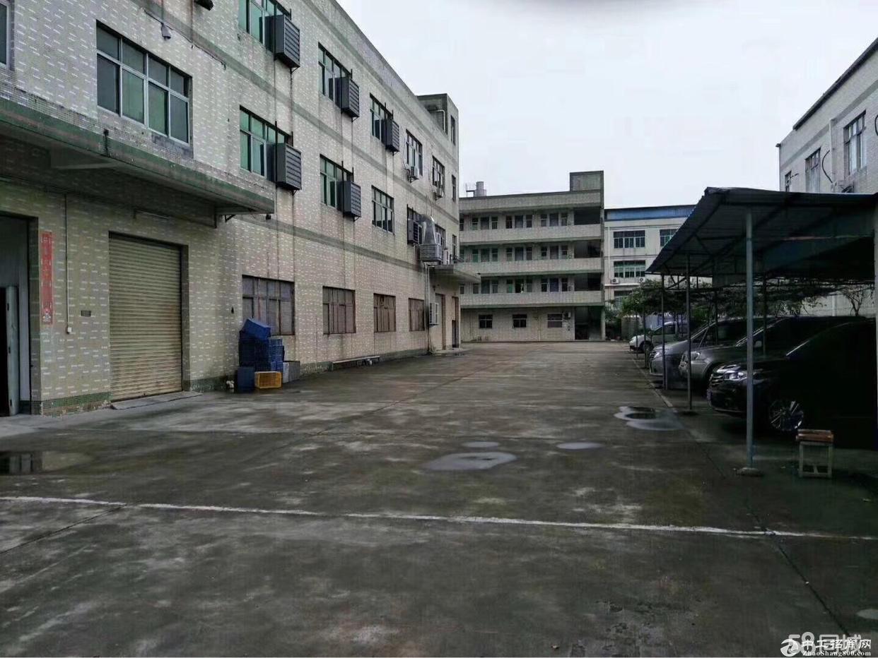 平湖华南城新出1至3层独门独院厂房出租可分租
