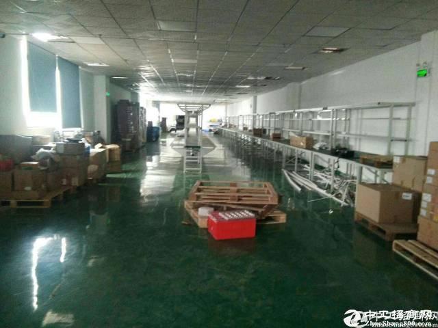 沙井大王山新出500平厂房招租。