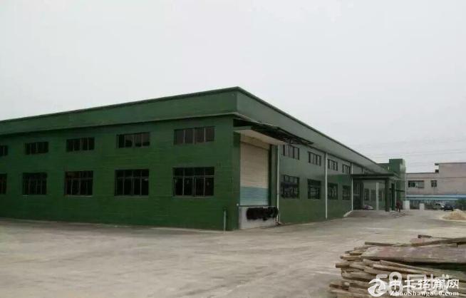平湖上木古单一层钢构厂房1500平出租水电齐全