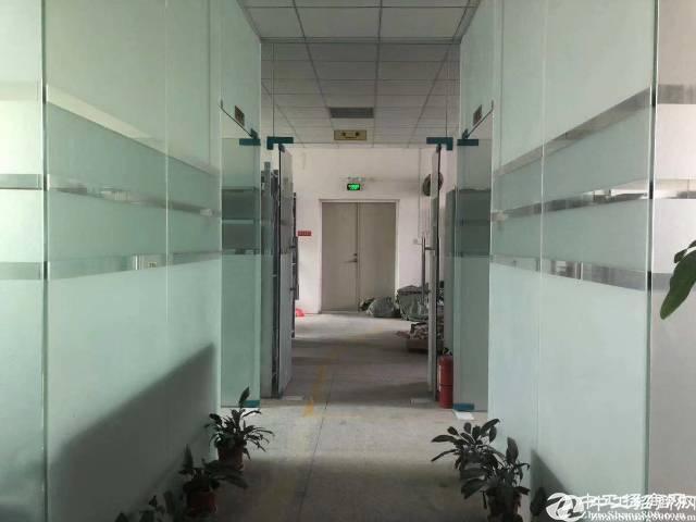 应人石靠近关口楼上660平米带装修20块厂房出租