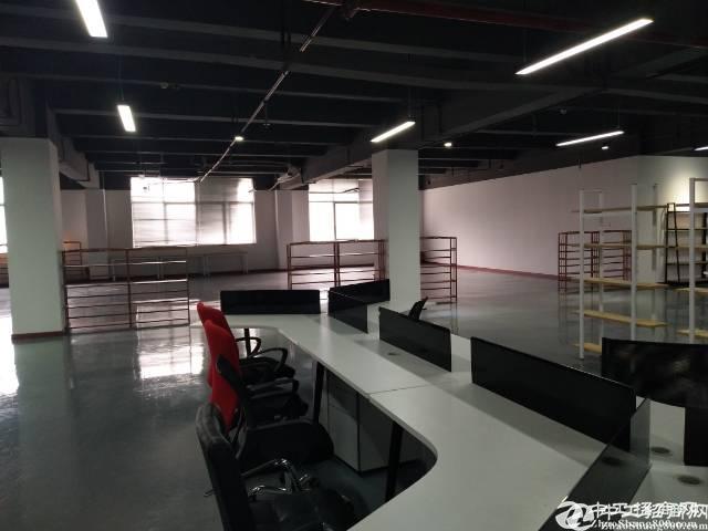 石岩原房东高新园红本花园式厂房20000平大小100分租带装修