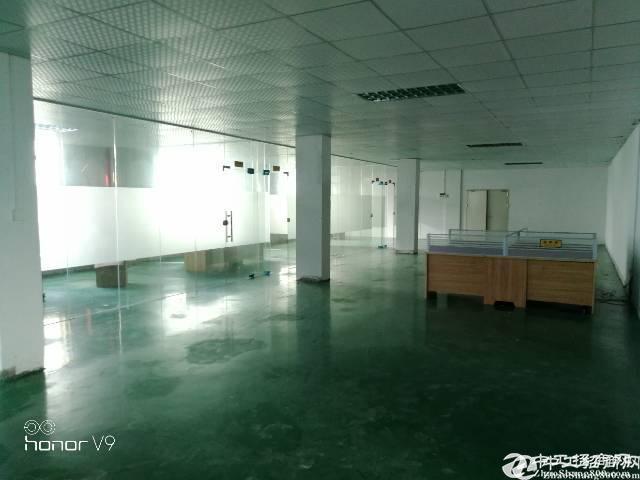 公明马山头新出二楼1600平米带装修厂房出租;