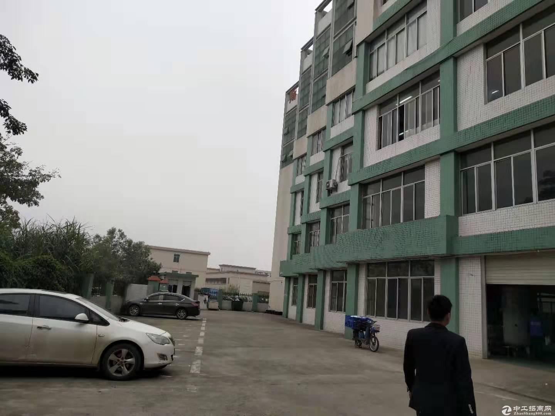 平湖富民工业区标准一楼500平方带行车急租