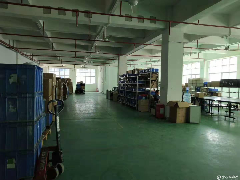 平湖大望工业区1400平方带办公室装修一楼厂房招租