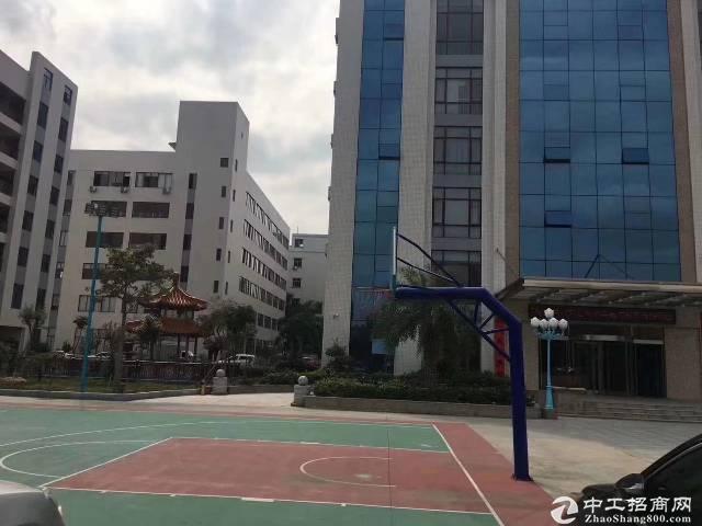 龙岗宝龙高新区楼上1020平带装修红本厂房出租