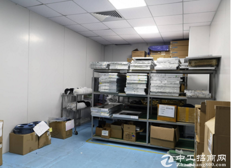 福永国道边楼上800平贴片厂房新装修半年多转让