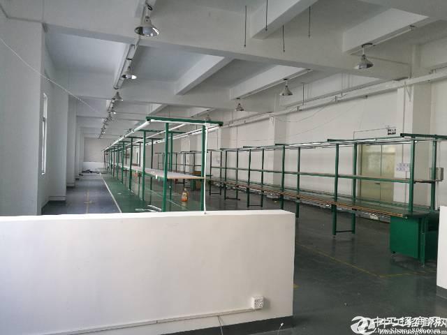 西乡桃源居附近新出楼上355平厂房出租