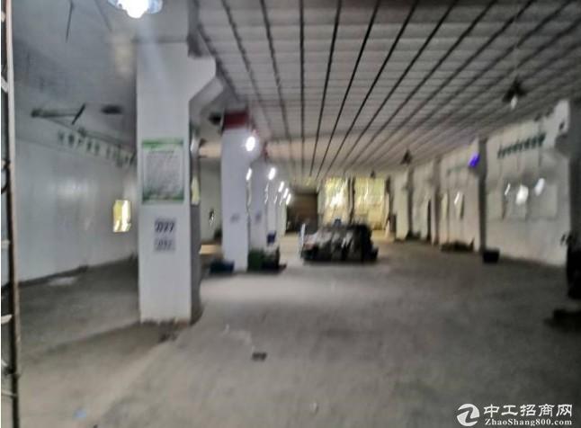 清湖工业园一楼红本厂房原房东仓库2500平米可分组