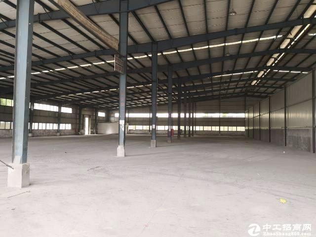 石岩南光高速口钢构3600层高8米空地大适合物流仓库