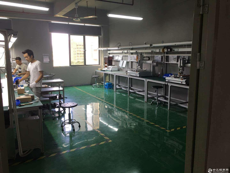 龙岗中心城3公里宝龙工业区1500平电子厂房出租-图5