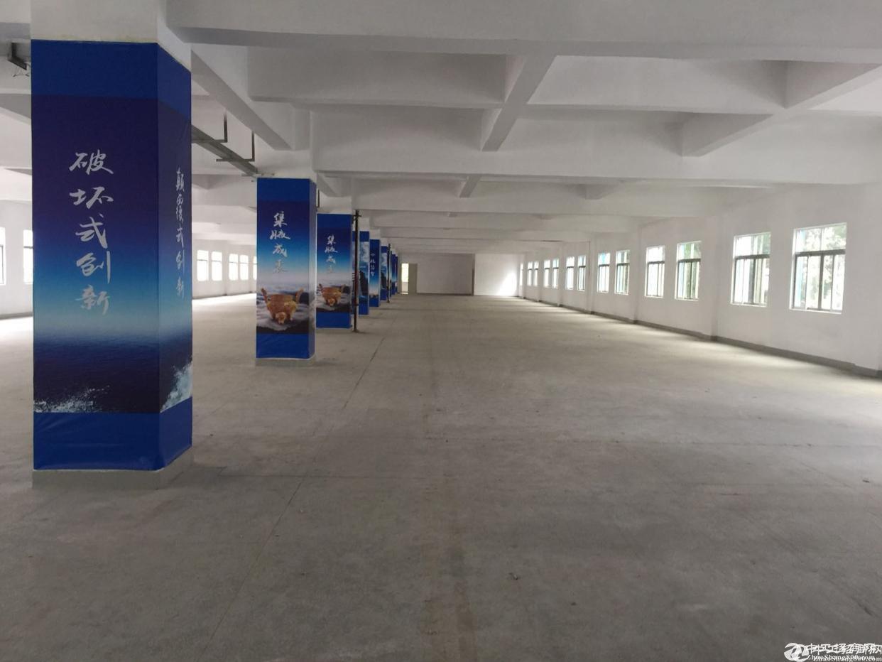 西乡黄麻布现空楼上单层2400平,大小可分租;