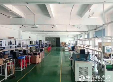 沙井新出独院 4500平 原房东 带装修无转让厂房
