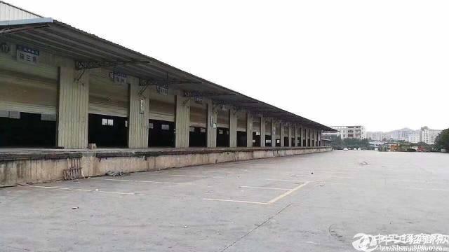 福永仓库5000平方招租,有卸货平台和雨棚