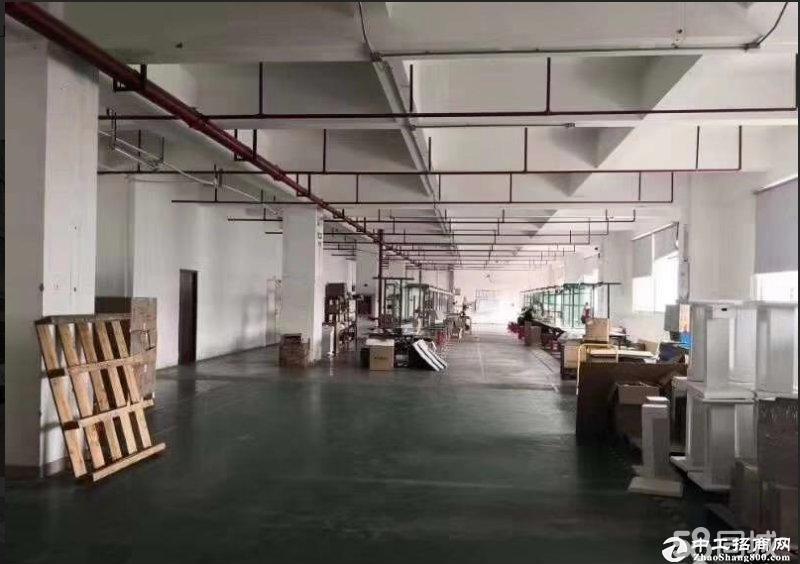 平湖华南城旁工业区一二楼厂房各1000平方出租