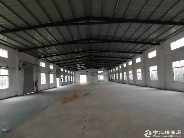 南坑村工业园6000滴水8米钢构证件齐全主线到车间大小分租
