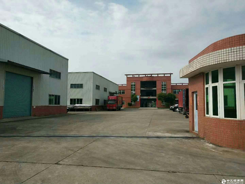 出租龙岗区华南城2500平方米独院钢构厂房.