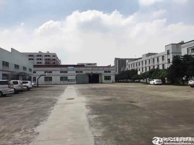 西乡黄田工业区107国道边17000平一楼仓库出租