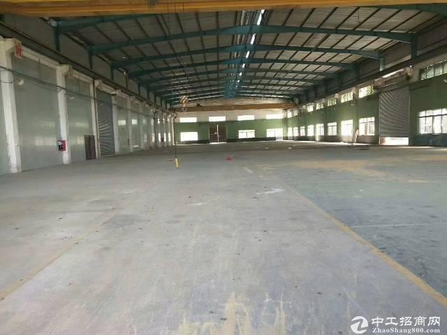 坪山原房东仓库实际面积5000平招租,空地超大