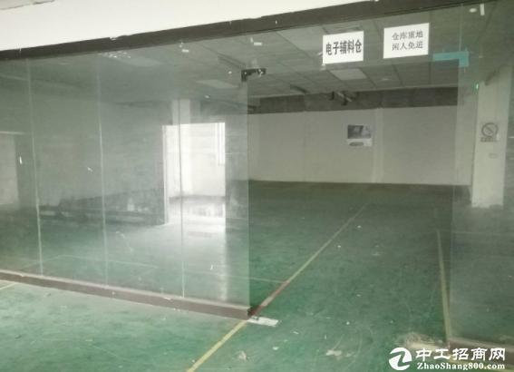 [布吉厂房]木棉湾 红本无公摊 工业区厂房二楼450平.
