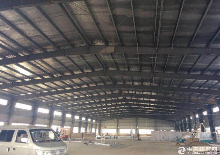 汉口北1700平独栋钢结构厂房,可做仓库可加工