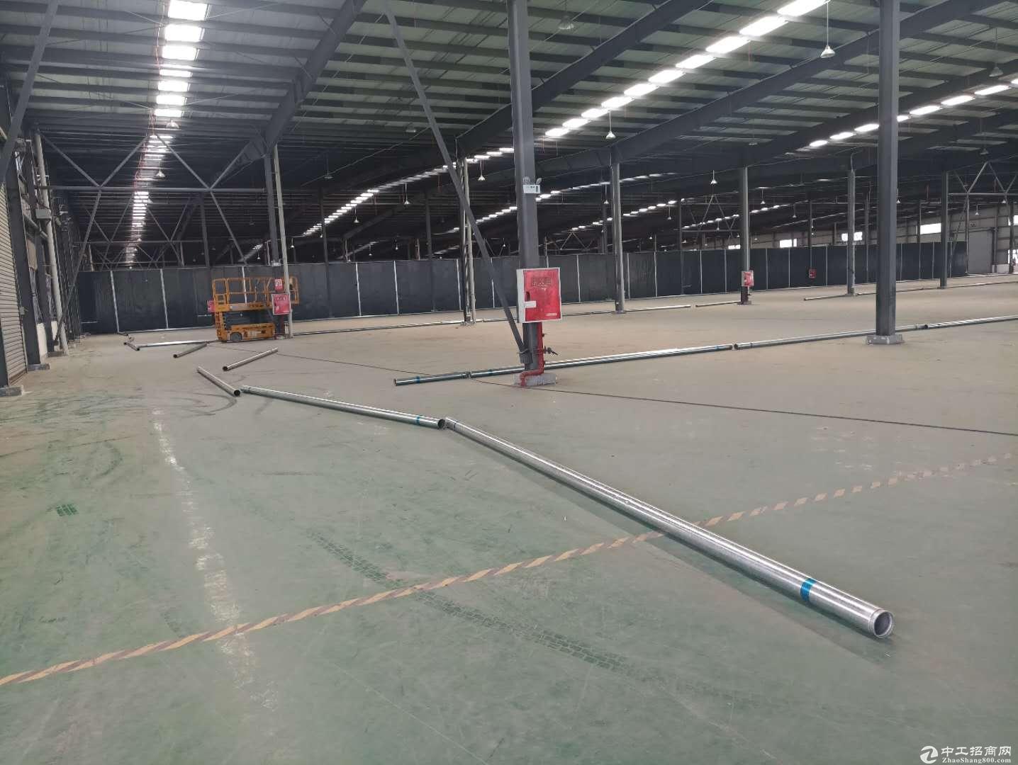 成都龙泉4000平单层钢结构厂房出租-图2