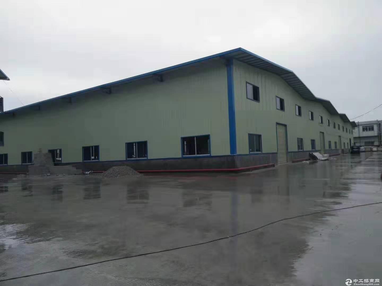 中堂单一层8米高国有独院厂房7000平方急售