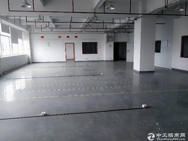 光明将石新出楼上345平米厂房出租;有消防证
