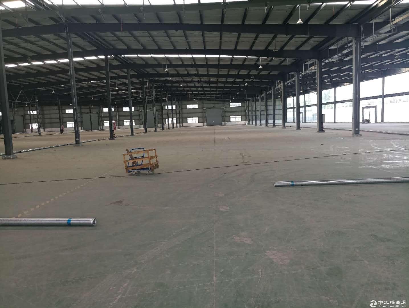 成都龙泉3000平厂房出租,标准单层钢结构-图2