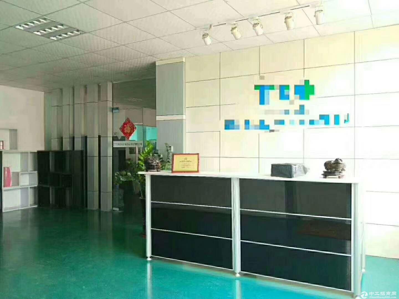 沙井98工业园区新空带豪华装修1080平米厂房