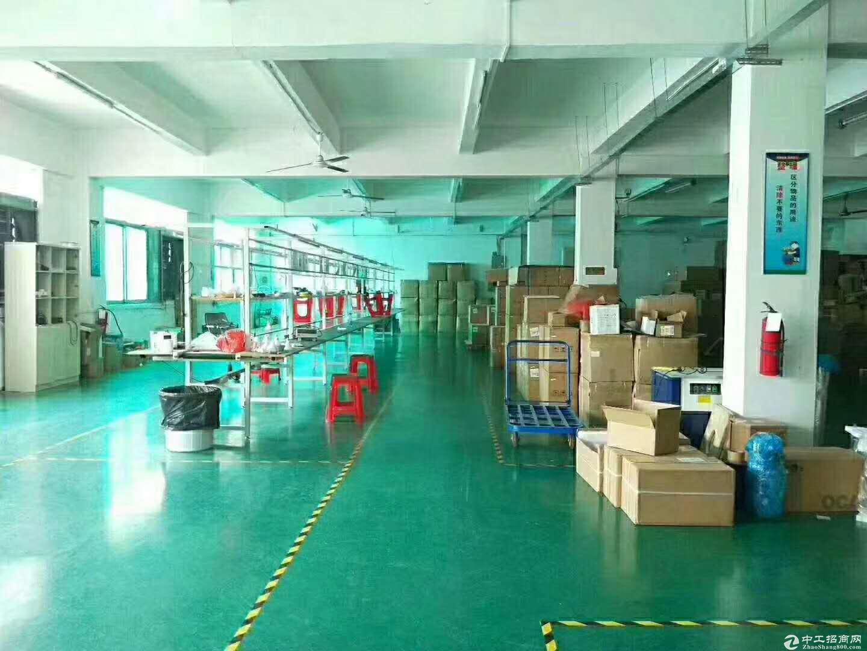 沙井98工业园区新空带豪华装修1080平米厂房-图4